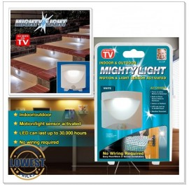 Mighty Light - indoor outdoor Motion & LED Light Sensor Activated