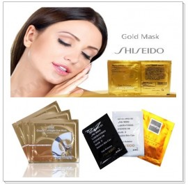 (MIX) Shiseido Peel Off Mask (Black / White / Naturgo / Gold Bird Nest) & Collagen Eye Mask