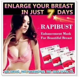 RapiBust Breast Enhancement Mask 4pcs / Box