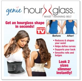 Genie Hour Glass™ Waist Training Belt
