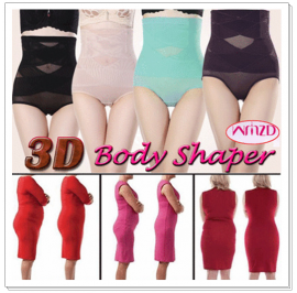 3D Body Shaper High-Waist Slimming Pants (M-4XL)