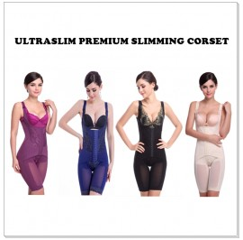 HIGH QUALITY - UltraSlim Corset Magnetic Therapy Full Body Shapewear (M - 5XL)